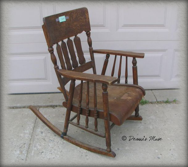 Vintage Rocker From Beaten And Broken To Beautifully Distressed
